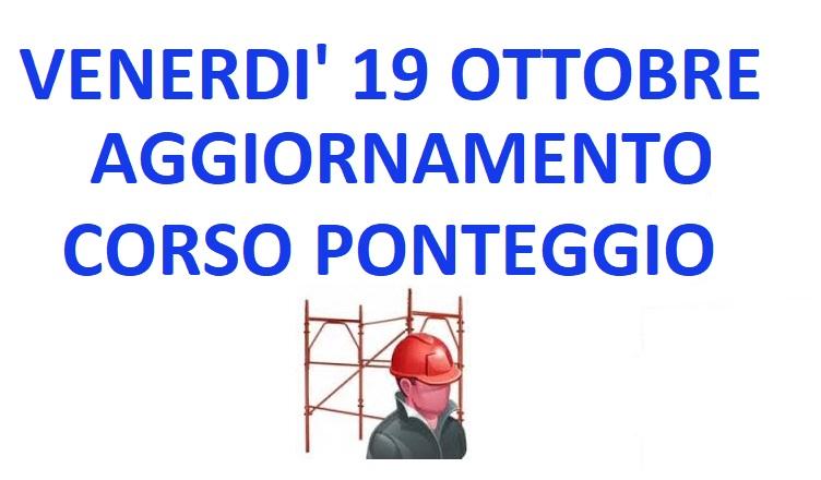 AGG. CORSO PONTEGGIO